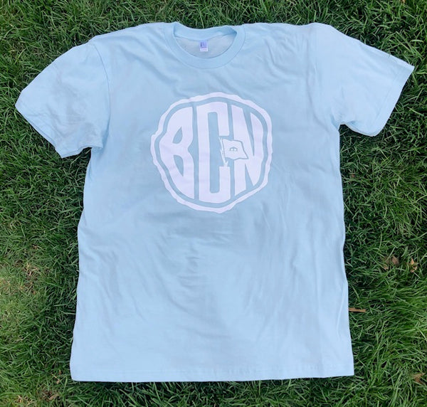 "BCN ""Stump"" T-Shirt - Light Blue"