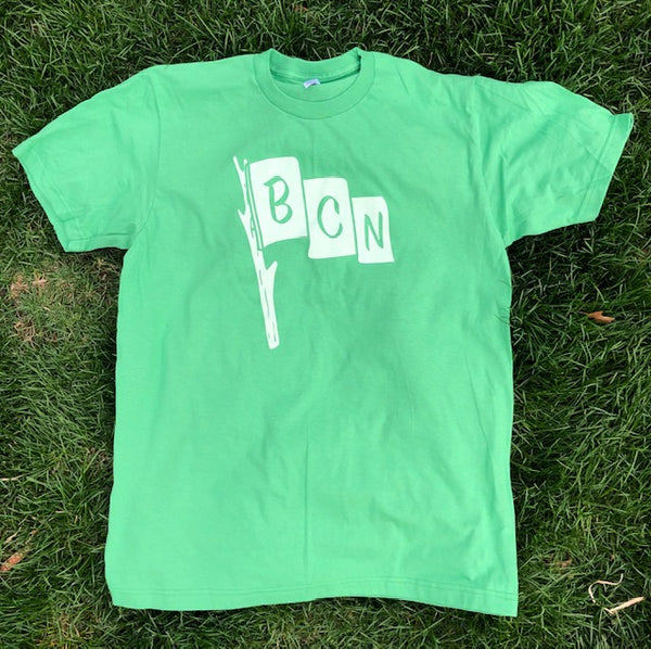 BCN Flag Acronym T-Shirt - Grass Green