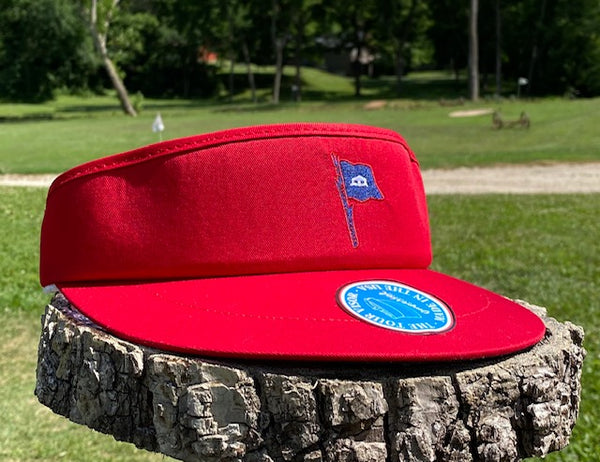 Red Tour Visor - BCN Logo in Navy