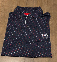 "Fairway & Greene ""The National"" Print Polo"