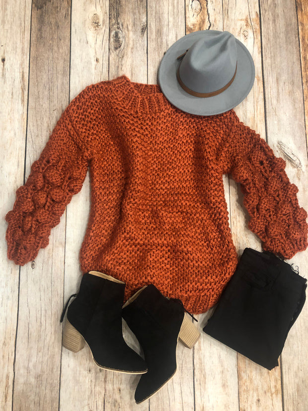 Rustic Cuddles Sweater