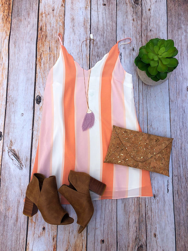 Peach Perfection Dress