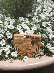Siena Bamboo Purse