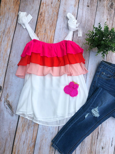 Poppy Colorblock Cami