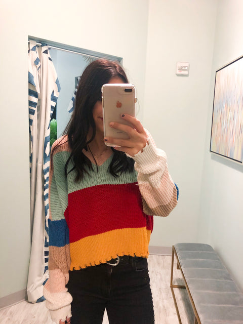 Whistler Colorblock Sweater