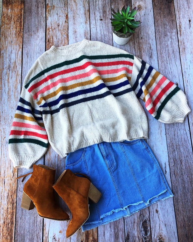 Hampton Striped Sweater