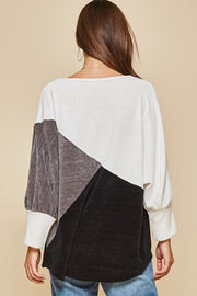 Wyatt Colorblock Sweater
