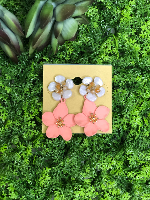 Flower Explosion Earrings