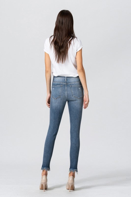 Starra Frayed Skinnies
