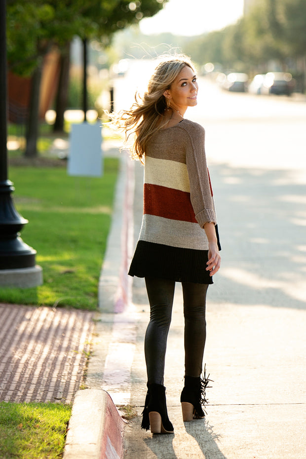 Wylie Colorblock Sweater