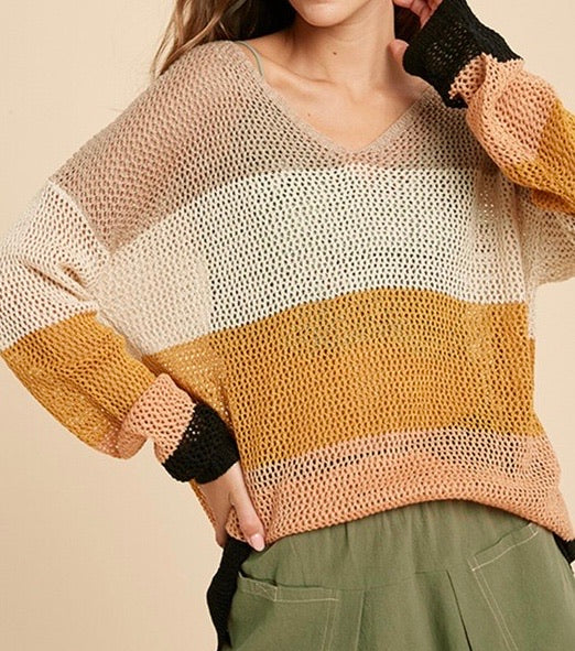 Hazel Colorblock Knit