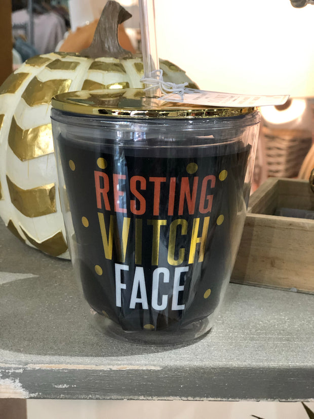 Witch Face Cup