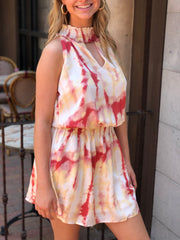 Hibiscus Dyed Dress