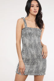 James Speckled Dress