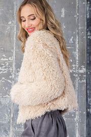 Snowbound Fuzzy Jacket
