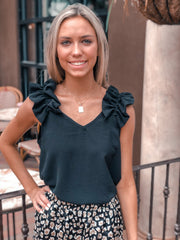 Rivers Ruffle Top