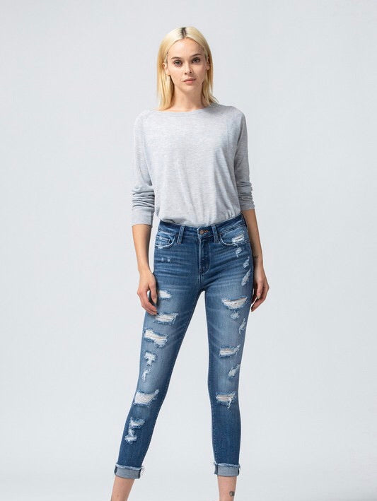 Alissa Cropped Skinnies