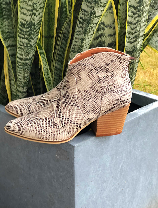 Slithern Snake Booties