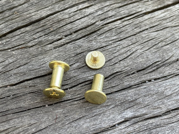 Chicago Screw - 10mm Gold