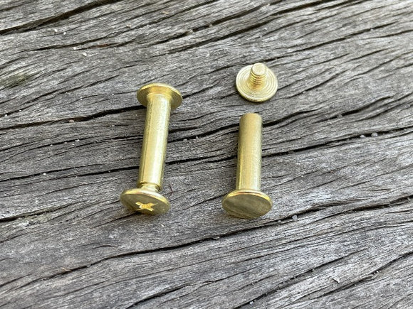 Chicago Screw - 20mm Gold