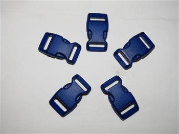Royal Blue Buckles - 15mm (5/8 inch)