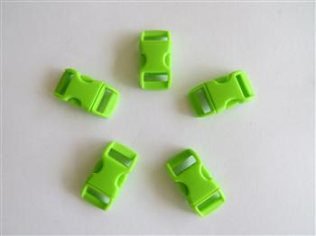 Lime Buckles - 10mm (3/8 inch)