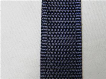 Navy Blue - Type 1 Polyester webbing - 25mm