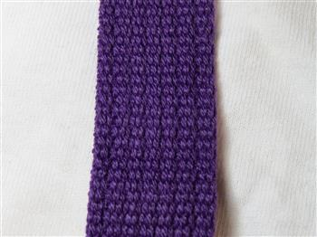 Spun Polyester Webbing - Purple 20mm