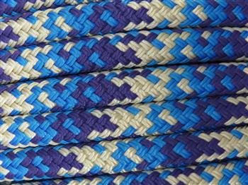 Beige-Blue-Purple Appaloosa Lead Rope - 12mm