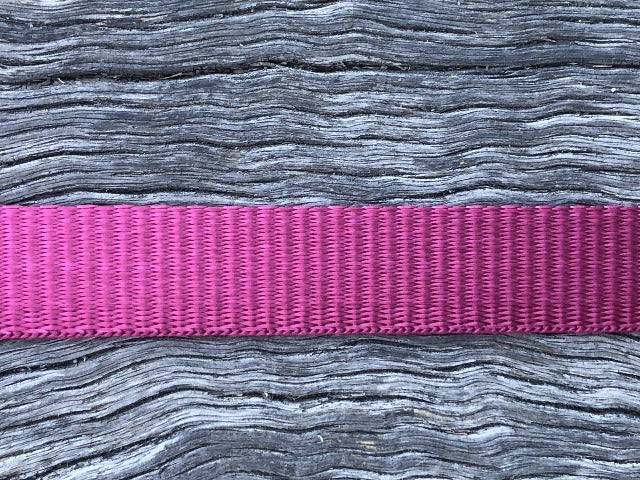 Polyester webbing - Berry 20mm
