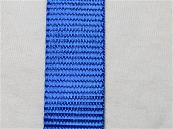Polyester webbing - Blue 15mm