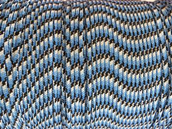 Blue Snake - 3mm Macrame