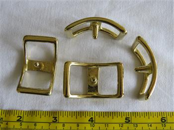 Conway Buckles - 20mm Brass
