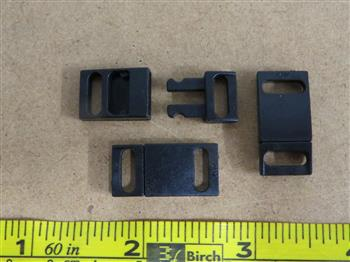 Breakaway Buckles - Black 10mm (3/8 inch)
