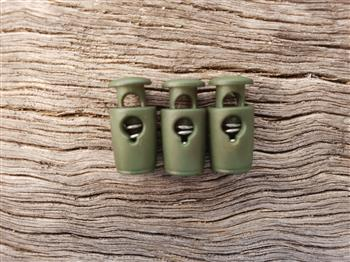 Barrel Toggle - small Military Green