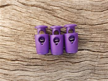 Barrel Toggle - small Purple