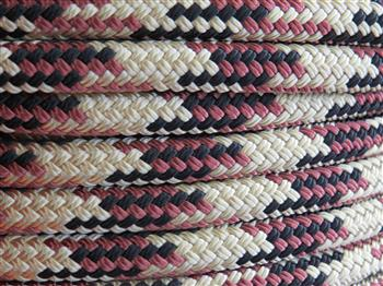 Beige-Brown-Black Tobiano Lead Rope - 12mm