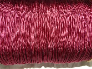 Burgundy - 3mm Macrame