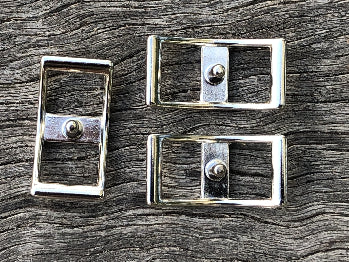 Conway Buckles - 12mm Silver