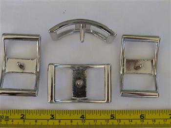Conway Buckles - 25mm Silver