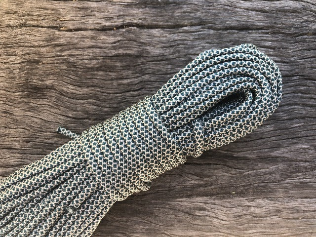 Diamonds - Cream & Teal Paracord