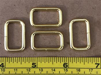 Rectangle Rings - 20mm Gold