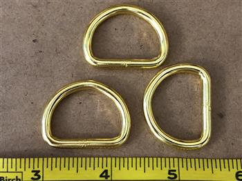 Dee Rings - 25mm Gold