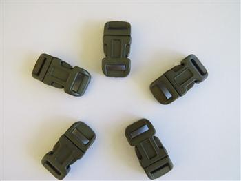 Military Green buckles - 12mm (1/2 inch)