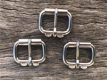 Halter Stainless Steel Roller Buckle - 25mm