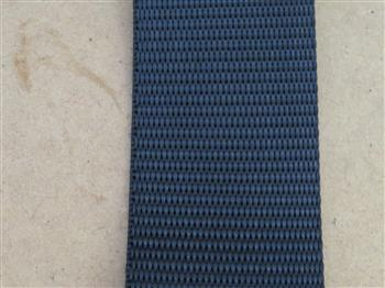 Polyester webbing - Black 38mm