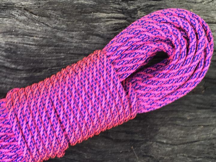 Helix - Electric Blue/Neon Pink Paracord