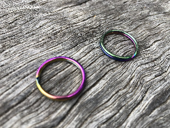 Key Rings - Rainbow 20mm