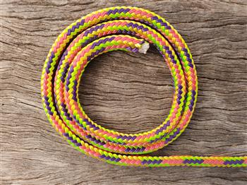 Lime-Pink-Purple-Yellow halter - 6mm