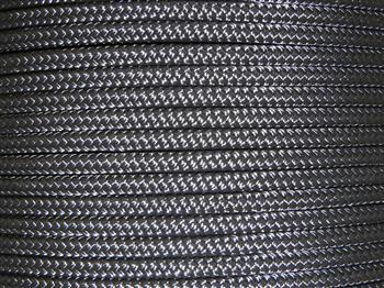 Black Horse Lead Rope - 16mm
